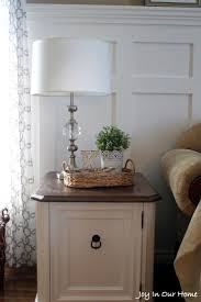 bedroom end table decor end table decoration ideas finished brown light with end table