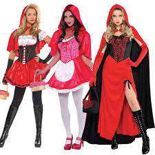 red riding hood halloween costumes ladies little red riding hood fancy dress storybook