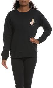 vans sweater vans the souvenir crew sweater in black karmaloop com