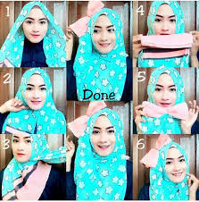 tutorial hijab pesta 2 kerudung tutorial hijab segi empat 2016 1mobile com