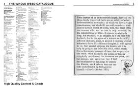 Weed Map Colorado by The Whole Weed Catalog By Joe Dolce Unbound