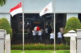 Singapore Flag Button A Nation Bids Farewell To S R Nathan Who Gave His U0027best Years And