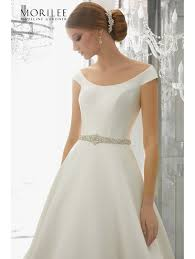 classic wedding dresses mori 8179 maquesa classic a line wedding dress ivory