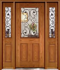 fibre glass door half lite fiberglass doors with wi glass