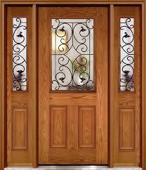 fiber glass door half lite fiberglass doors with wi glass