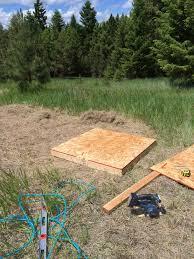 building an outhouse u2013 a modern homesteader