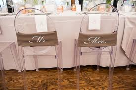 and groom chairs wedding signs for the newlyweds chairs at the reception inside