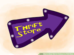 how to shop well for clothes in a thrift store with pictures