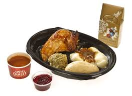 the dish is swiss chalet festive special or