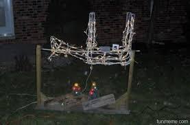 hanging christmas lights 10 christmas decorations for hunters