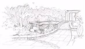 sketches mhairi auld landscape gardener garden design