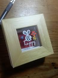 bee happy original papercut by paperpandacuts on deviantart