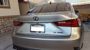 lexus sc300 license plate light saneddie u0027s is 350 f sport build clublexus lexus forum