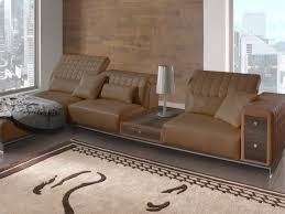 Leather Sofa With Chaise Lounge by Misano Sofa Misano Collection By Tonino Lamborghini Casa