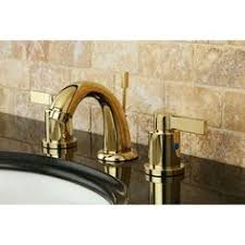 Polished Brass Bathroom Faucets Widespread French Country Widespread Polished Brass Bathroom Faucet