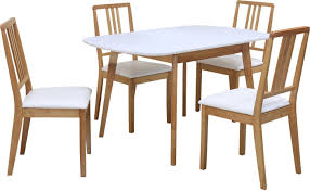 home by nilkamal mainland solid wood 4 seater dining set price in