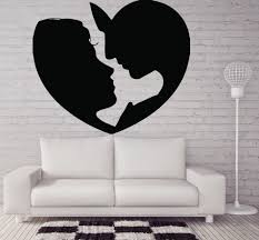 Wall Stickers For Home Decoration by Valentine Days Cool Home Wall Decals For Valentine Decors Heart
