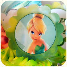 Disney Tinkerbell Christmas Tree Topper by Disney Pirate Fairy Party Tinker Bell Cupcake Topper On Etsy