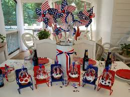 fourth of july decorations a patriotic celebration table setting