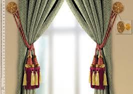 Drapery Tassel Tiebacks Victoria Tassel Tiebacks And Wall Medallions Set Roomsbeautiful Com