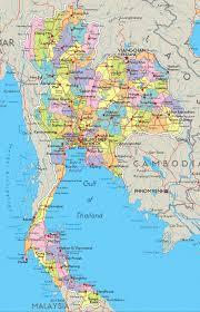 map of thailand map thailand maps thailand