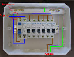 distribution board wiring diagram electrical engineering blog