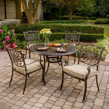 Cast Aluminum Patio Furniture Clearance by Shop Patio Dining Sets At Lowes With Regard To Aluminum Patio