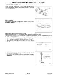 2009 nissan quest wiring diagram 2009 wiring diagrams