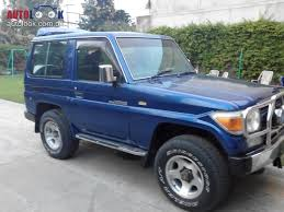 land rover pakistan 1986 toyota land cruiser manual 3 door hatchback petrol car for sale