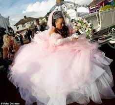 How Much For Bridal Makeup My Big Fat Gypsy Wedding We Reveal The 140 000 Cost Daily Mail
