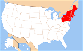 map of northeast us states with capitals map usa northeast region at of all world maps