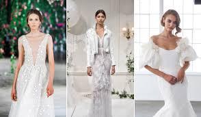 Wedding Dress Trend 2018 Wedding Attire Weddingwire