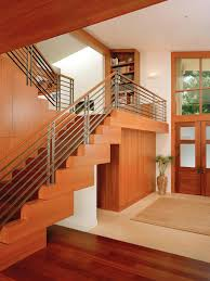 Banister For Stairs Mid Century Stair Railing Houzz