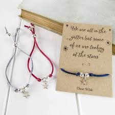 star friendship necklace images Oscar wilde star friendship bracelet by literary emporium jpg