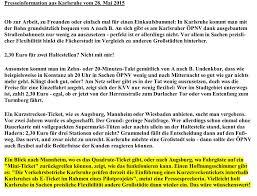 Baden Baden Linie Antrag Auf Prüfung Der Einführung Eines Kurzstreckentickets