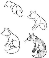 how to drawing doodles red fox doodles by krissyfawx on