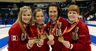 olympic rings women images 2014 canadian olympic women 39 s team curling canada jpg