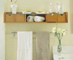 Towel Storage For Small Bathrooms by Storage Ideas For Small Bathrooms With Pedestal Sinks Home