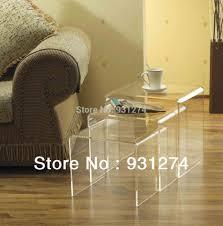 coffee table lucite end table hypnofitmaui com plexiglass coffee