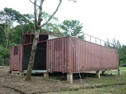 welding shipping container a shipping container house in panama