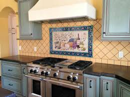 painted tiles for kitchen backsplash painted tile backsplash kitchen cabinet hardware room