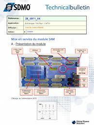 sdmo sam install guide fr
