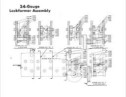 lockformer machinery parts diagrams 24 gauge pittsburgh