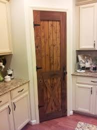 southern all wood cabinets barn looking pantry door southern grace loving this for either our