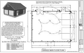 garage floor plans free free 2 car garage plans 24x24 garage plans house plans with