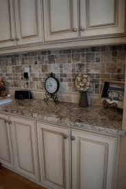 Painted Kitchen Cabinets Ideas Kitchen Distressed Cabinets With Reclaim White Then