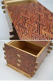 Secret Compartments In Wooden Japanese - japanese puzzle box 72steps with secret compartment