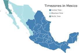 Jalisco Mexico Map Timezones In Mexico U2022 Mapsof Net