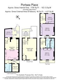 One Hyde Park Floor Plans 4 Bedroom House For Sale In Portsea Place Hyde Park London W2