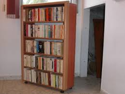 Rolling Ladder Bookcase by Rolling Bookcases Large Bookcase With Ladder Bookcase With Rolling